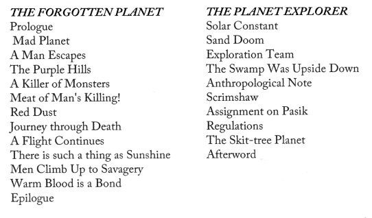 TOC Planets of Adventure