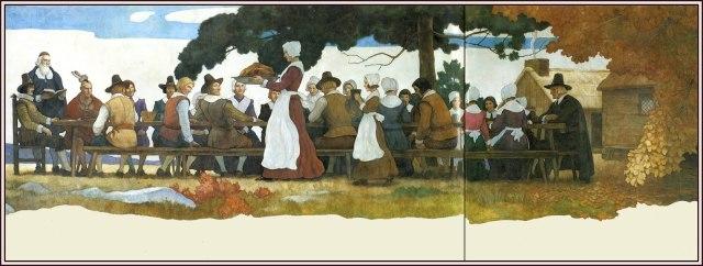 thanksgiving-pilgrims-wyeth_1940