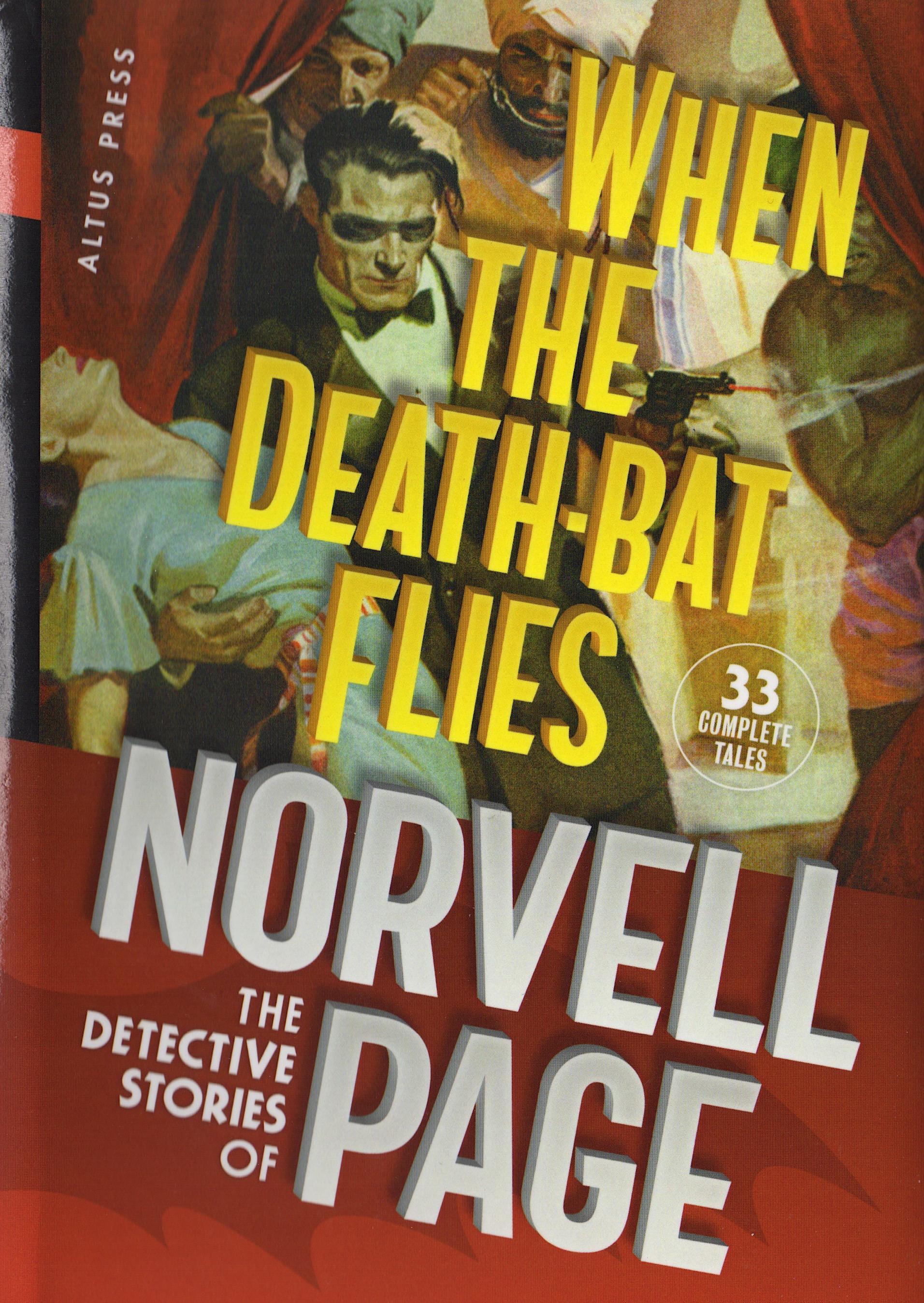When the Death-Bat Flies front cvr
